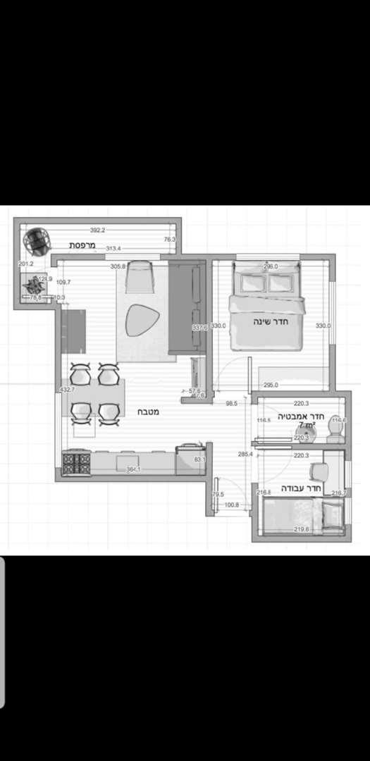 דירה למכירה 2.5 חדרים בתל אביב יפו מרכז  ז'אן ז'ורס