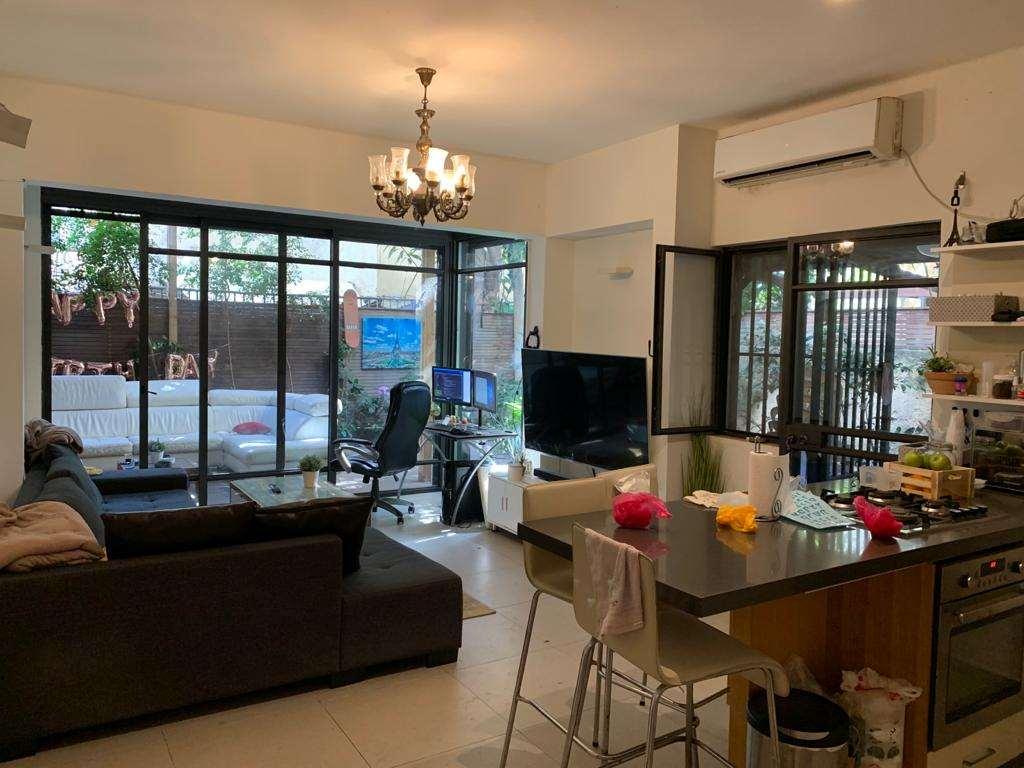 דירת גן למכירה 4 חדרים בתל אביב יפו מרכז גורדון