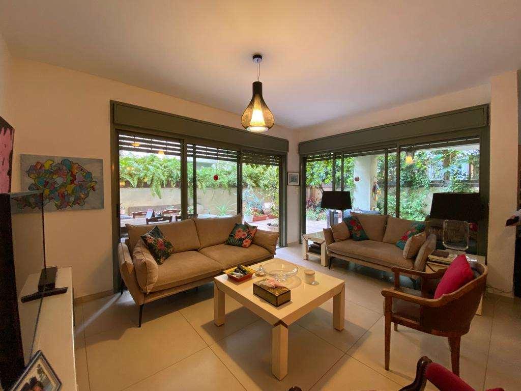דירת גן למכירה 3 חדרים בתל אביב יפו לב העיר רשי