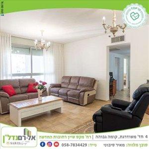 דירה למכירה 4 חדרים ברחובות מקס שיין 12