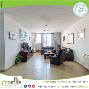 דירה למכירה 4 חדרים ברחובות שקולניק אהרון 2