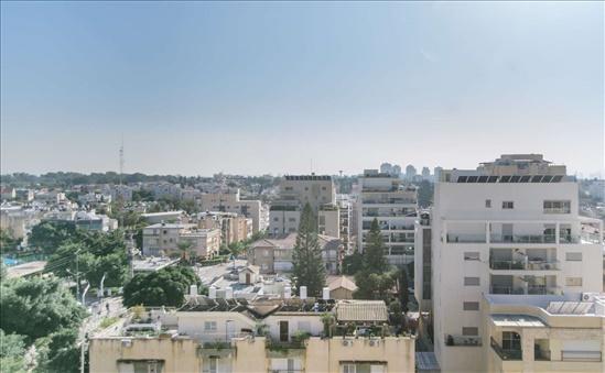 דירת גג למכירה 4 חדרים בהרצליה הירוקה הדר