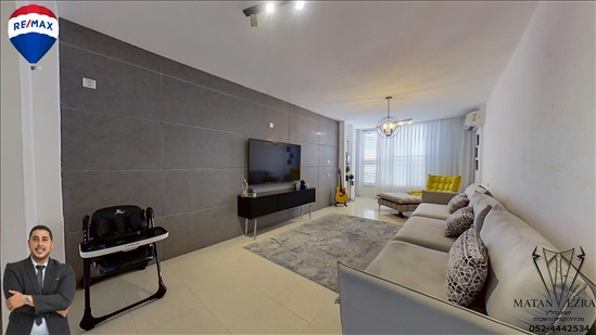 דירה למכירה 3 חדרים בבת ים מרכז ברנר