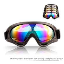 אביזרים דו גלגלי אביזרי לבוש ומיגון משקפי UV400 לרוכבי אופנוע