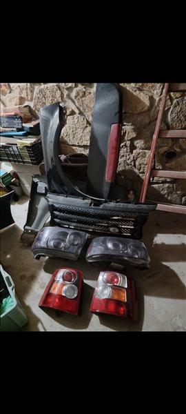 אביזרים 4x4 קישוטים ותוספות ריינג רובר