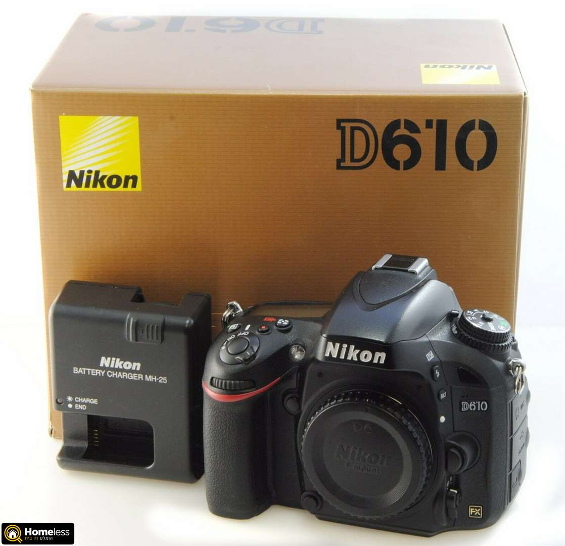 NIKON D610 WITH 18-140MM F/3.