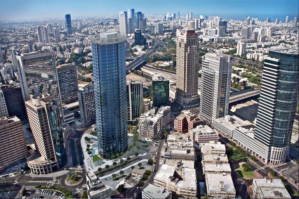 תמונה 3 ,משרדים להשכרה זבוטינסקי 7 מגדל משה אביב  מגדל אביב מתחם הבורסה רמת גן