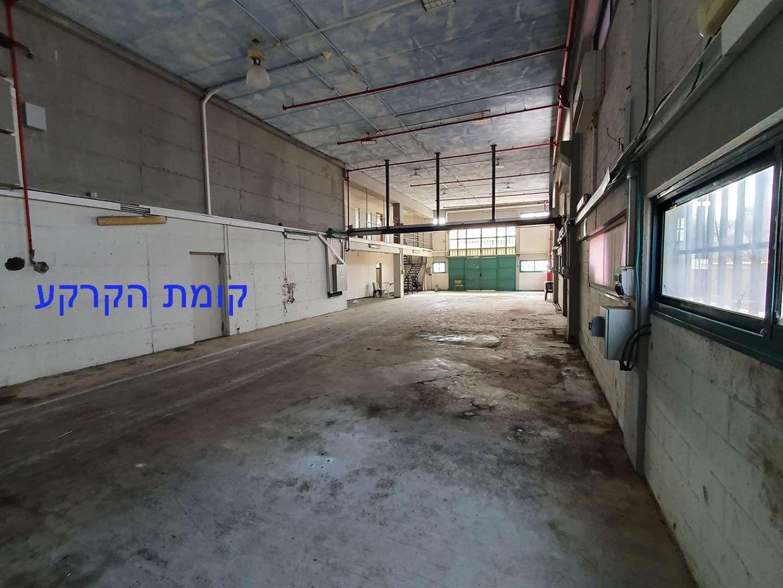 תמונה 2 ,מבני תעשיה להשכרה מבנה תעשייה כ300מר או 600מר קרקע מרכז בית יצחק שער חפר