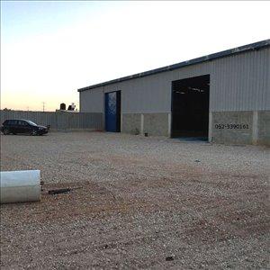 מחסנים השכרה בחגור מחסן 800 מר עם חצר תפעולית