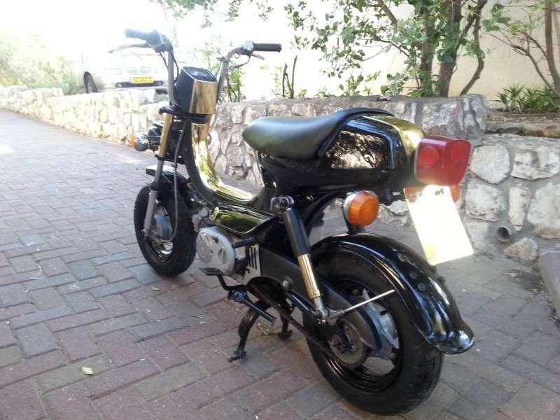 מדהים מיני בייק | אופנועים יד שניה הומלס SV-34