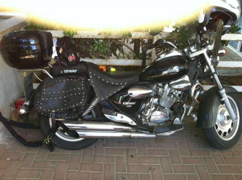 הגדול קיוואי סופר לייט 125 למכירה | אופנועים יד שניה הומלס II-82