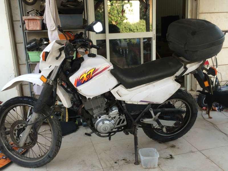 ימאהה XT500