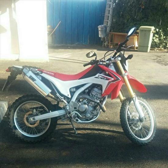 הונדה CRF 250 2012 יד  2
