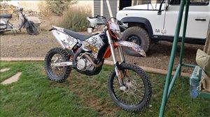 ק.ט.מ / KTM EXC 125 2010 יד 3