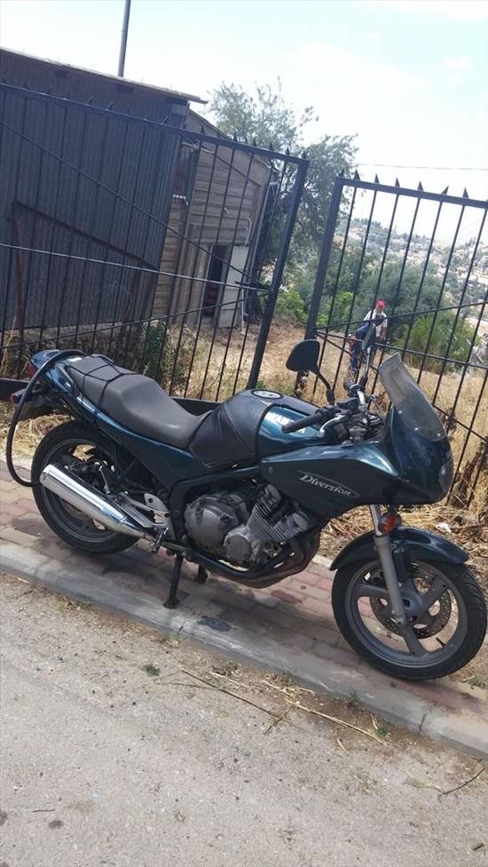 ימאהה XJ400 דיוורז'ן 1990 יד  2