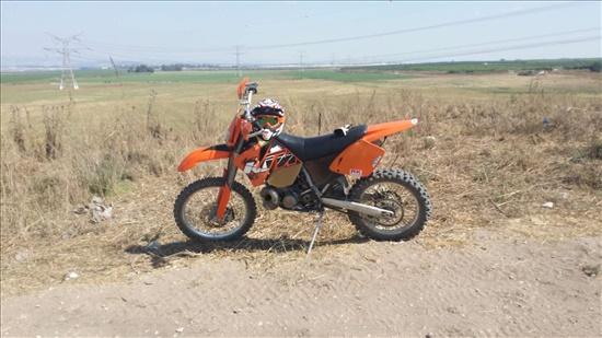 ק.ט.מ / KTM EXC 125 2002 יד  5