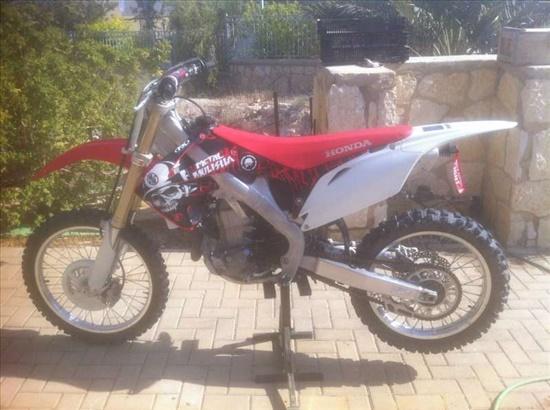 הונדה CRF 450  2011 יד  1