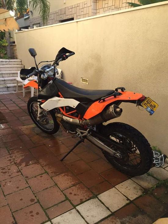 ק.ט.מ / KTM LC4-690 2011 יד  3