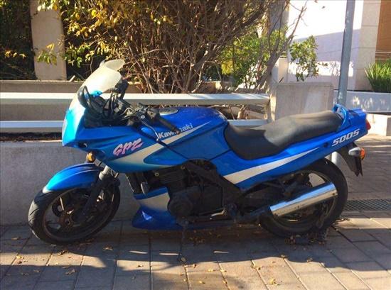קוואסאקי GPZ500 2001 יד  5