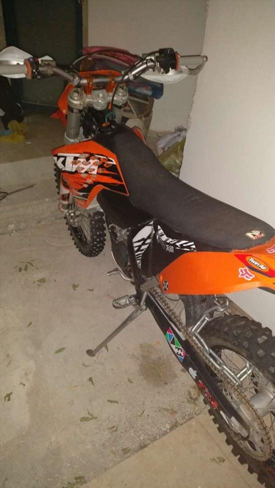 ק.ט.מ / KTM EXC 125 2009 יד  5