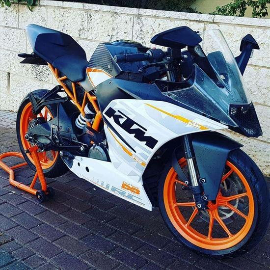 ק.ט.מ / KTM RC 8 2015 יד  3