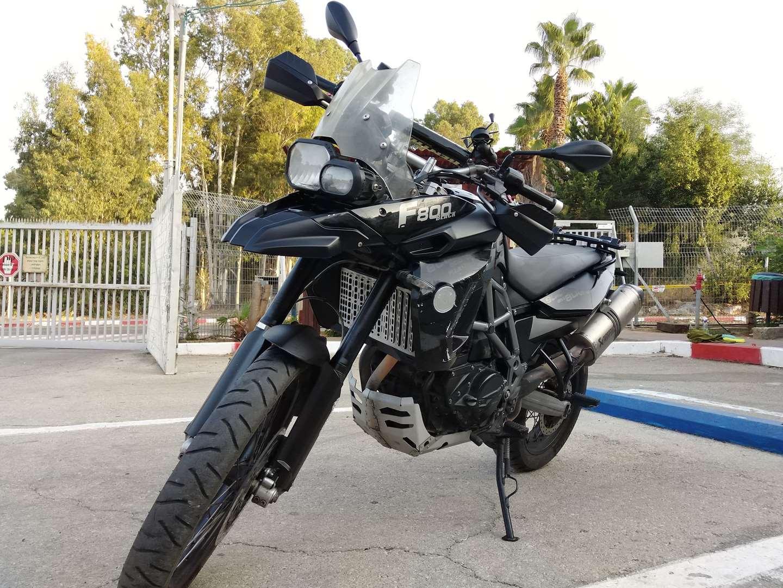 ב.מ.וו F800GS 2012 יד  2