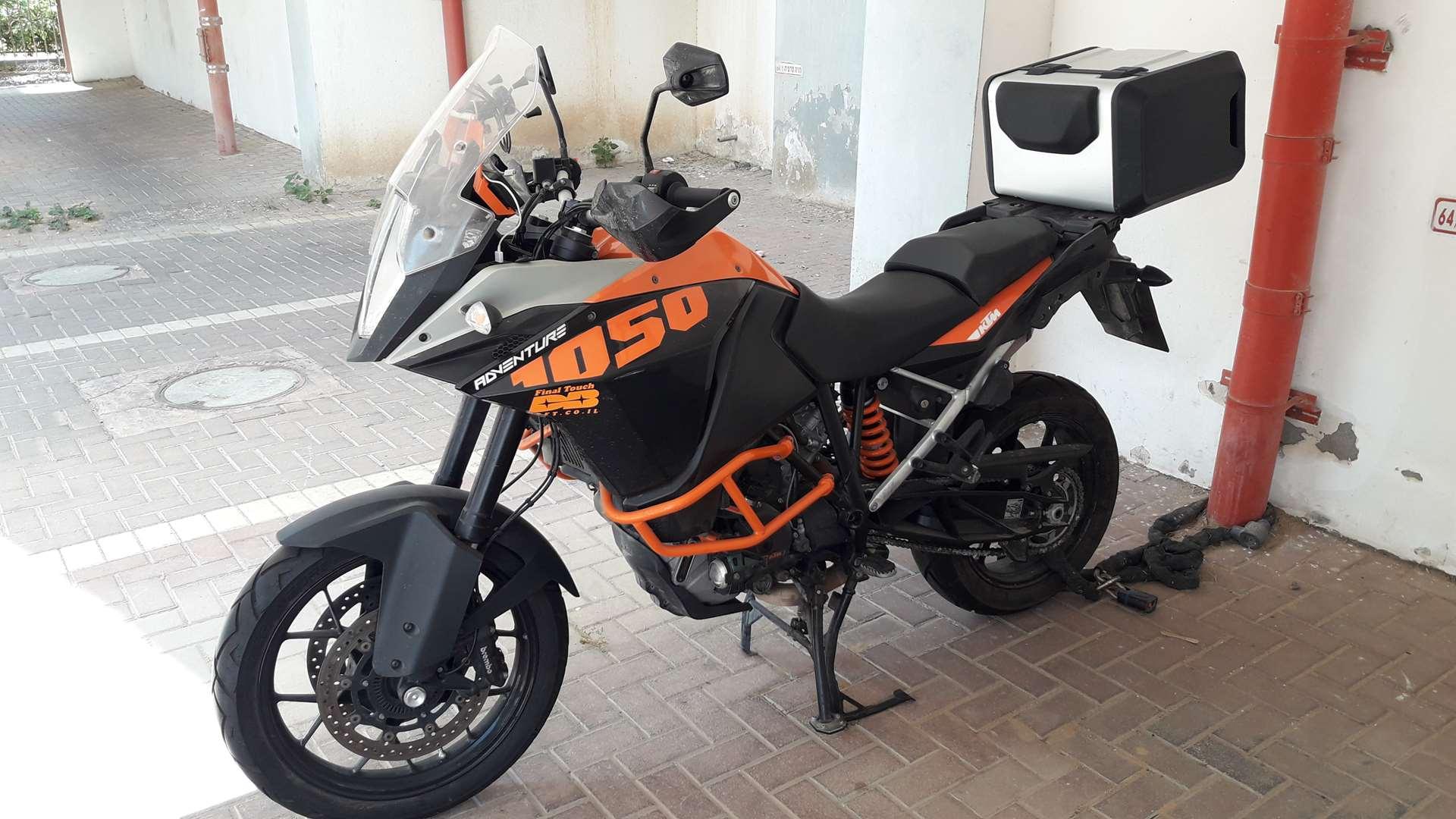 ק.ט.מ / KTM אדוונצ'ר 1050