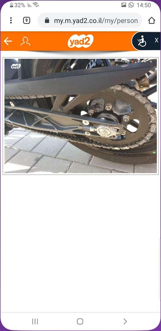"""תמונה 2 ,ק.ט.מ / KTM דיוק 390 יד 2 שנת 2018 4800 ק""""מ"""