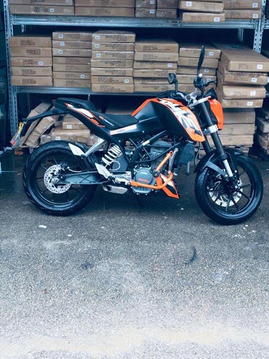 ק.ט.מ / KTM דיוק 200 2017 יד  2