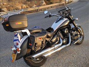 קוואסאקי VN900 קלאסיק 2013 יד 2