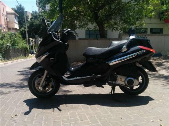 פיאג`ו X-EVO 250 2012 יד  2