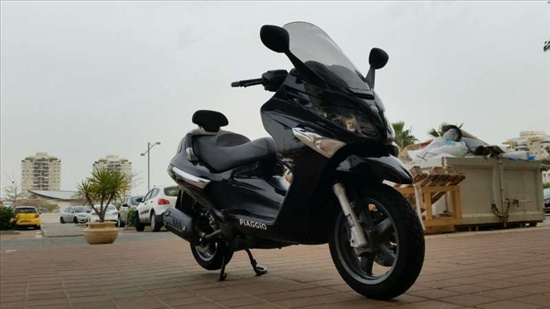 פיאג`ו X-EVO 250 2012 יד  1