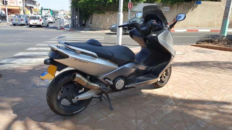 """תמונה 4 ,ימאהה T-Max 500 יד 4 שנת 2007 84500 ק""""מ"""