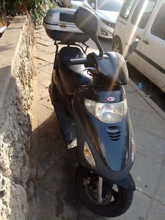 קימקו מובי 125XL 2011 יד  2