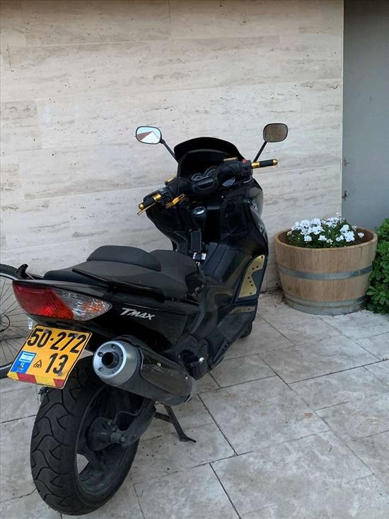 ימאהה T-Max 500 Black 2012 יד  3