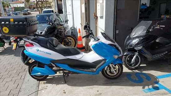 בליץ מוטורס - קטנועים חשמליים  בליץ 6000  2019 יד  1