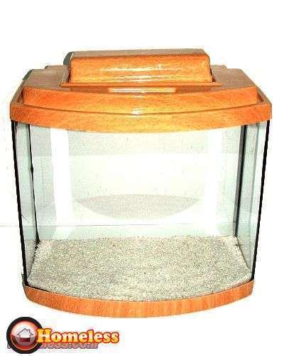 תמונה 1 ,דגים אקוואריום   אקווריום פנורמי 40 ס&quotמ למכירה בחיפה
