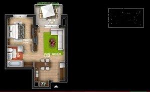 דירה להשכרה 2 חדרים ב Rose Garden Complex