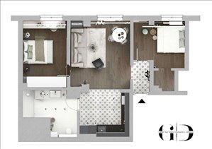 דירה להשכרה 3 חדרים ב central location