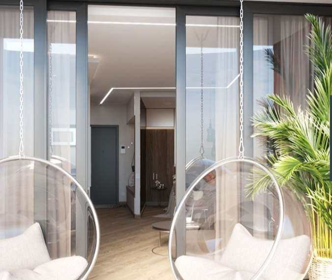 דירת סטודיו להשכרה 1 חדרים ב batumi