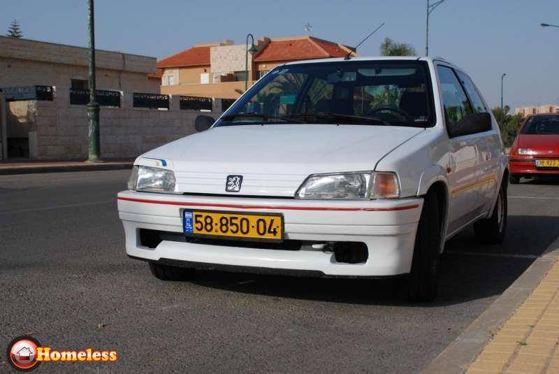 מפוארת פיג'ו 106 1995 יד 6 250000 קמ - 16000 שח | לוח רכב פרטי הומלס WC-73
