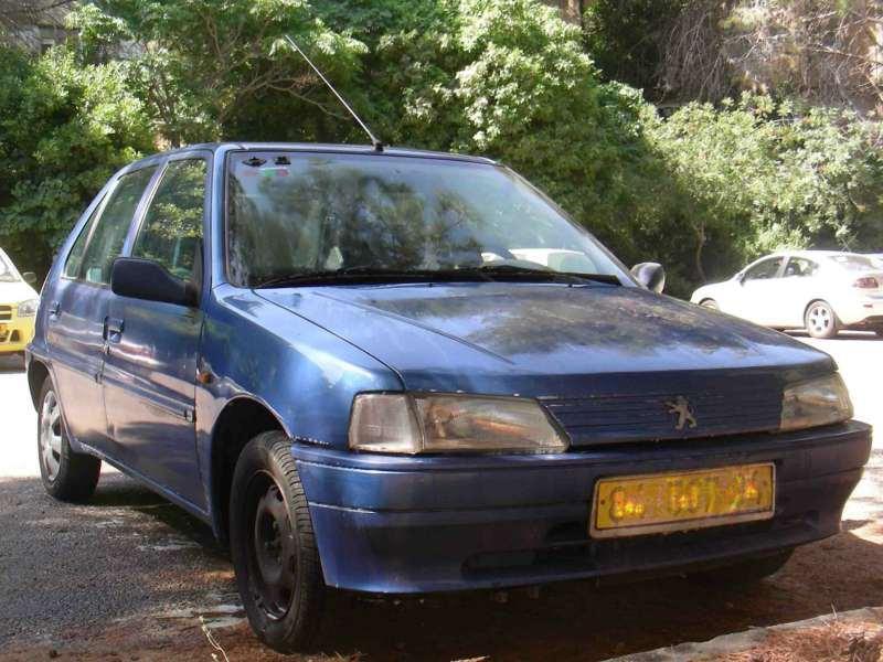 האחרון פיג'ו 106 1996 יד 5 199000 קמ - 4000 שח | לוח רכב פרטי הומלס GY-93