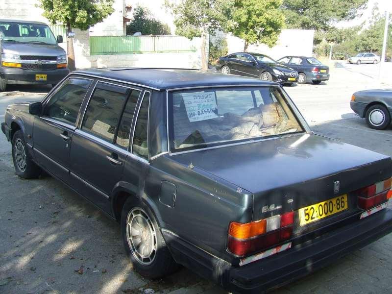 תמונה 3 ,וולוו 760 יד 3 שנת 1986 100000 קמ