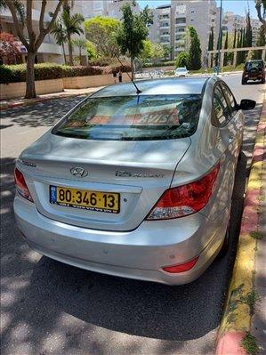 יונדאי i25 2012 יד2