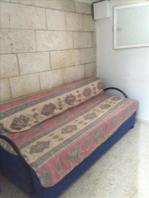 דירה, 1.5 חדרים, הורקניה, ירושלים