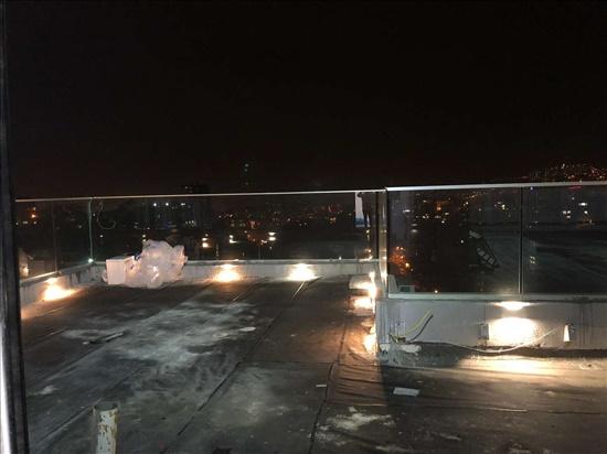 דירת גג להשכרה 2 חדרים בחיפה  מוריה 9 מרכז הכרמל