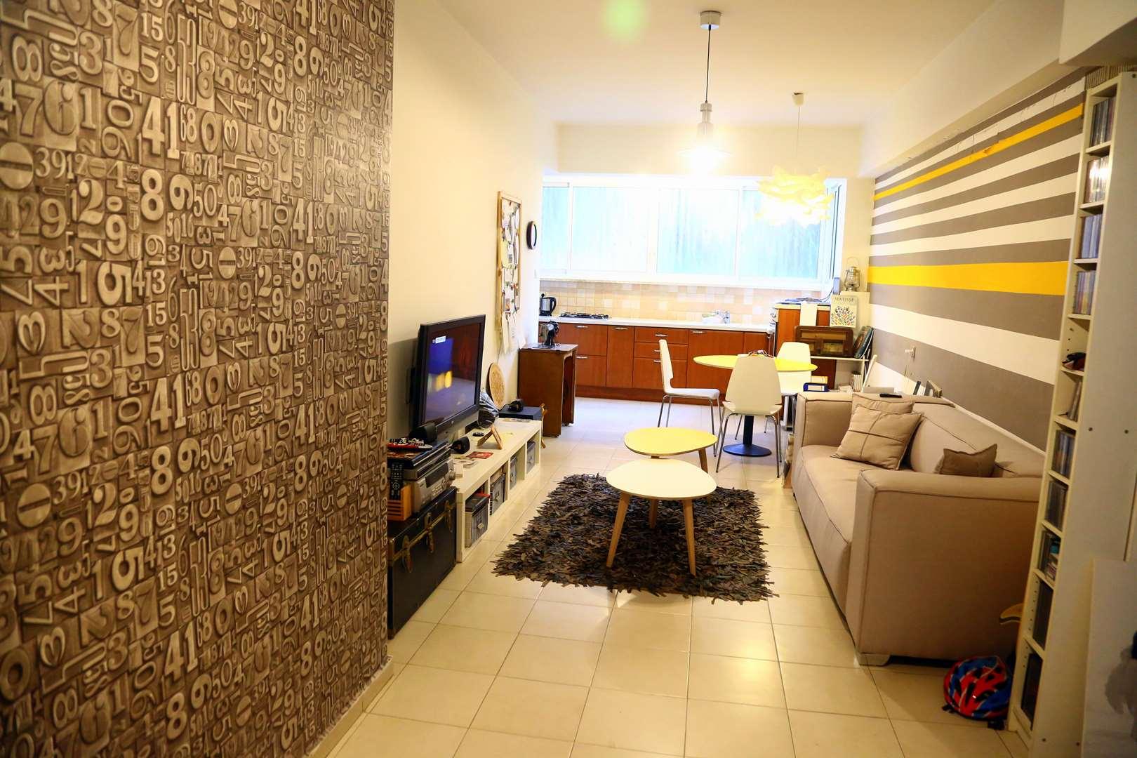 דירה, 3 חדרים, שינקין, גבעתיים