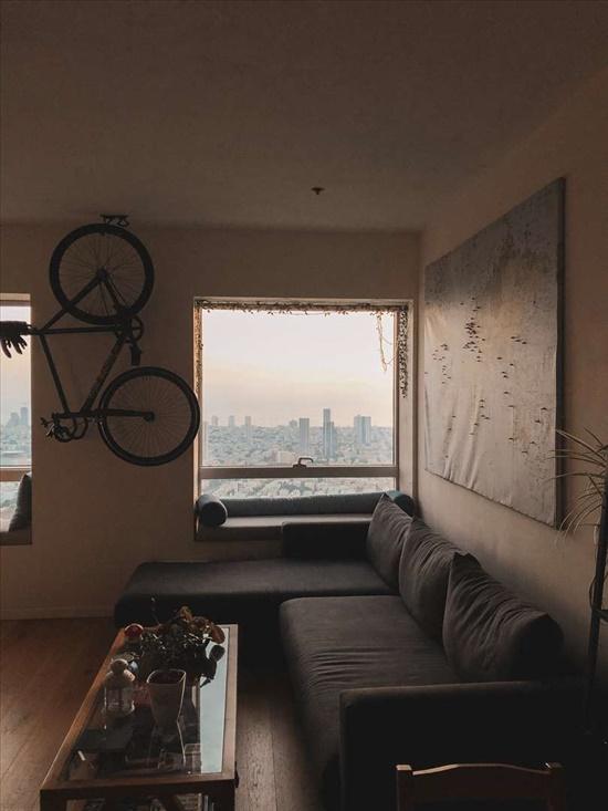 דירה להשכרה 1 חדרים ברמת גן דרך זאב ז'בוטינסקי מתחם הבורסה