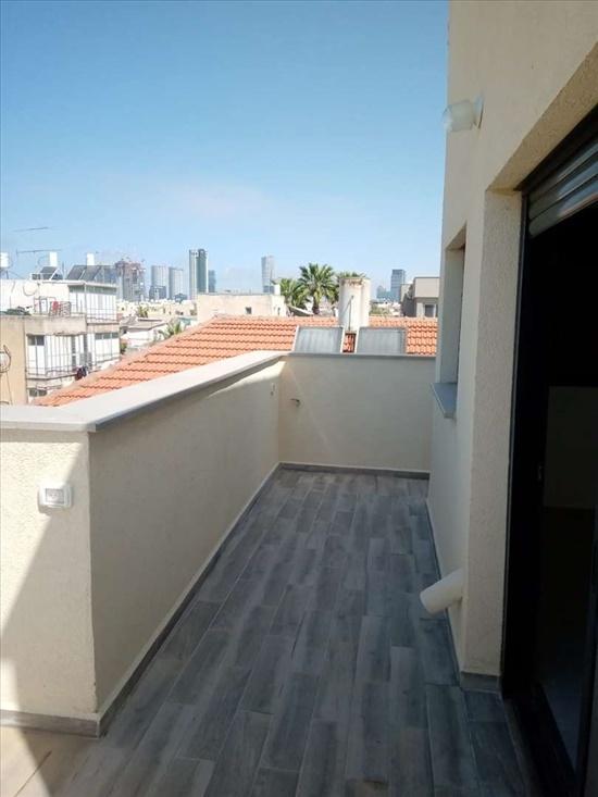דירת גג להשכרה 1.5 חדרים בתל אביב יפו קמואל שכונת התקווה