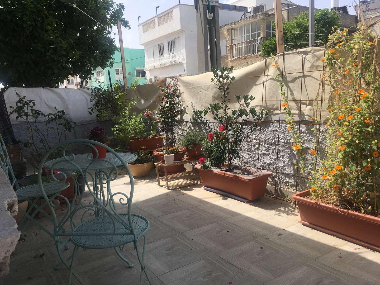 דירת גן להשכרה